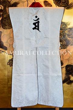甲冑 鎧 兜 梵字刺繍 ロングタイプ陣羽織 マン 0059