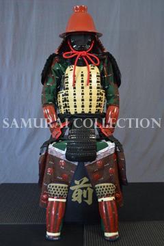 甲冑 サムライコレクション 黒田勘兵衛 赤合子形兜二枚胴具足