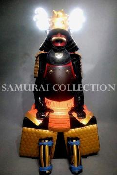 甲冑 サムライコレクション 栄螺形兜紅色二枚胴具足