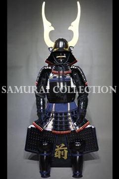 甲冑 サムライコレクション OR 天頂脇立黒塗二枚胴具足