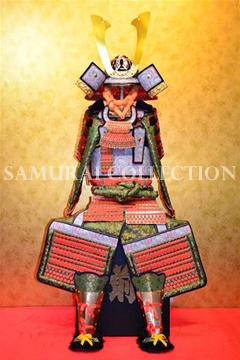 甲冑 サムライコレクション 鍬形兜朱色威腹巻稚児鎧