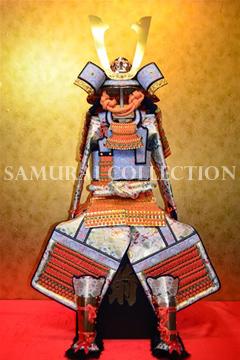 甲冑 サムライコレクション 鍬形兜橙色威腹巻稚児鎧