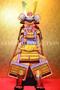 甲冑 サムライコレクション 鍬形兜中黄色威腹巻稚児鎧